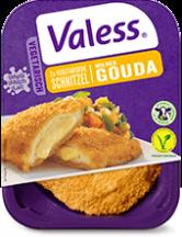 Valess 557Valess Gouda in Tortilla Wraps mit Krautsalat, buntem Paprika und Sour Cream