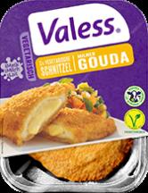 Valess 557Valess Gouda mit Fächerkartoffeln und Ofengemüse