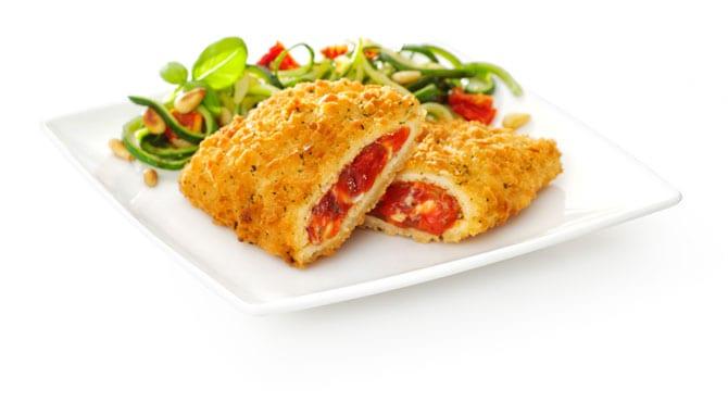 Valess Zucchinispaghetti mit Valess Tomate-Mozzarella