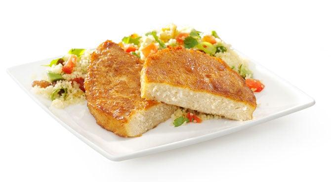 Valess Couscous-Salat mit Valess Steaks